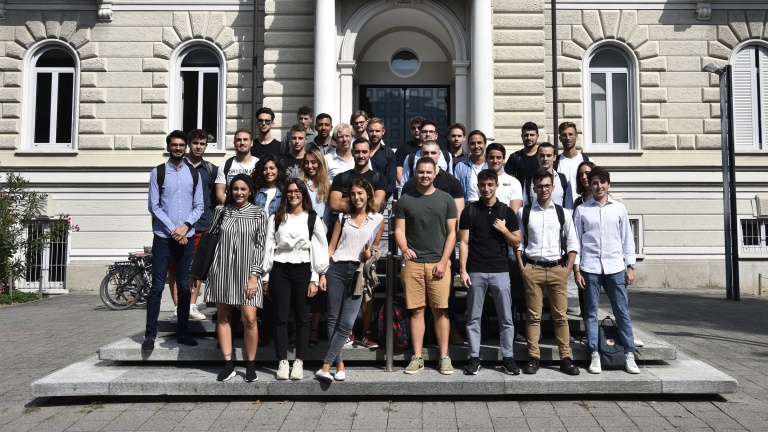 Welcome to our new students in the Master's of Finance SFI-accredited programme!